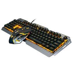 Harpi Mechanical Gaming Mouse Keyboard V1 Set 104 Key USB Wi