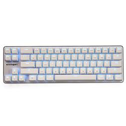 Qisan Gaming Keyboard Mechanical Wired Keyboard Cherry MX Bl