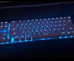 Qisan Gaming Keyboard Mechanical Wired Keyboard Cherry MX Br