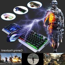 Gaming Mechanical Fluent Keyboard Soft Mouse V1 104 Key USB