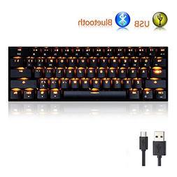 gaming mechanical keyboard rk61 wired