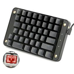 Koolertron Gateron Red Switches Programmable Gaming Keypad,