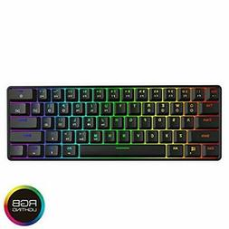 GK61 Hot Swappable Mechanical Keyboard - 61 Keys