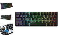GK61 Mechanical Gaming Keyboard - 61 Keys Multi Color Gatero