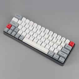 GK64 Mechanical keyboard with metal shell custom light rgb c