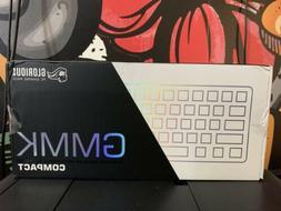 GMMK White Ice Edition - Compact 60% RGB Mechanical Keyboard