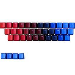 TINTON LIFE Gradient 37 Keys PBT Backlit Keycaps Set for Mec