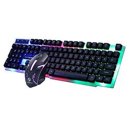 HiGOGO GT300 Mechanical Feeling Keyboard + Mouse Set with Wi