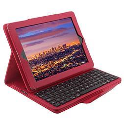 iPad 2/3/4 Keyboard Case, TOPBIN Bluetooth iPad Keyboard Cas