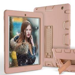iPad 2 Case,iPad 3 Case,iPad 4 Case, ZERMU Heavy Duty Kickst