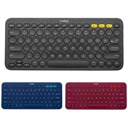 Logitech K380 Multi-Device Bluetooth Wireless <font><b>Keybo
