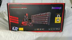 Redragon K552-BB Mechanical Keyboard and Mouse and PC Headse