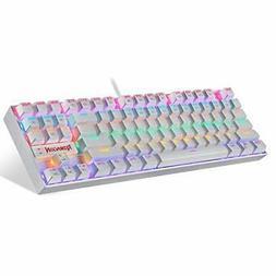 k552 mechanical gaming keyboard rgb led rainbow