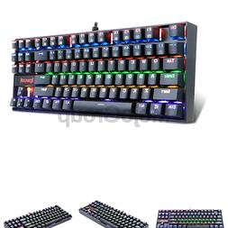 053333d9c8c Redragon K552-r Mechanical Gaming Keyboard 87 Keys Small Compact ...