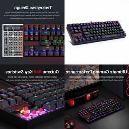 Redragon K552 Mechanical Gaming Keyboard Compact 87 Key Comp