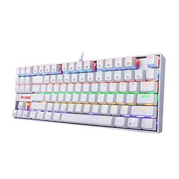 Redragon K552W KUMARA LED Rainbow Backlit Mechanical Gaming