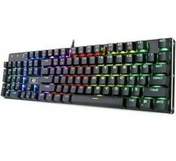 Redragon K556 RGB LED Backlit Wired Mechanical Gaming Keyboa