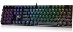 Redragon K556-RK Round Keys RGB LED Backlit Mechanical Gamin
