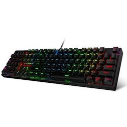 Redragon K582 SURARA RGB LED Backlit Mechanical Gaming Keybo