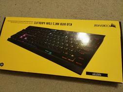 Corsair K70 RGB MK.2 Low Profile Wired Gaming Keyboard with