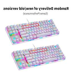 MOTOSPEED Mechanical Keyboard Gaming Keyboard Customized LED