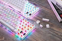 k87s mechanical keyboard usb customized led backlit