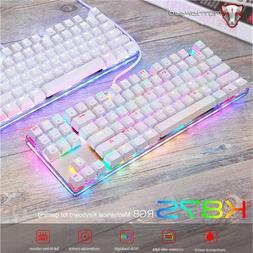 Motospeed K87S NKRO Gaming Mechanical Keyboard Ergonomic Wit