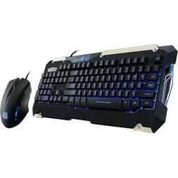 NEW Thermaltake KB-CMC-PLBLUS-01 Commander Gaming Gear Combo