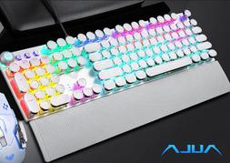 Keyboard and Mouse Set PC PS4 PS3 Xbox One T6 Gaming Rainbow