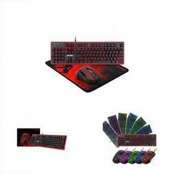 Keyboard Keyboards And Mouse Combo Plus Pad, Gaming Mouse, M
