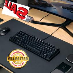 AUKEY keyboard mechanical gaming with Blue Switches 87 Key