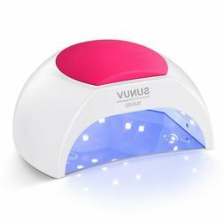 SUNUV Sun2c 48W UV LED Light Lamp Gel Nail Dryer With Timer