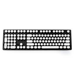 Keycaps Set for Mechanical Keyboard Steampunk Retro Typewrit