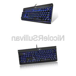 Eagletec KG010 Mechanical Keyboard, USB Wired Natural Ergono