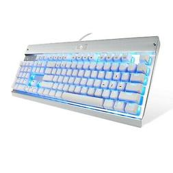 Eagletec KG011 Mechanical Keyboard Blue Switches 104 Lighted