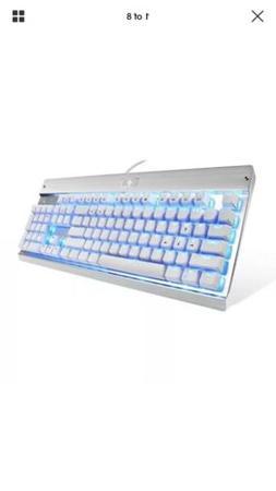 EagleTec KG011 Office Industrial LED Backlit Mechanical Keyb