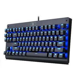 EagleTec KG040 Backlit Mechanical Gaming Keyboard, Blue Swit