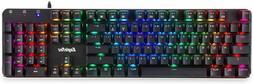 EagleTec KG050 LED Backlit Mechanical Gaming Keyboard Low Pr