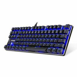 Eagletec Kg060-Br Blue Led Backlit Mechanical Gaming Keyboar