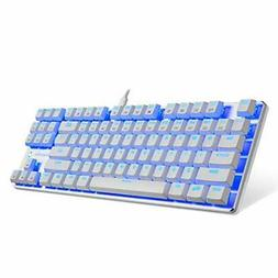 kg061 br mechanical gaming keyboard compact white