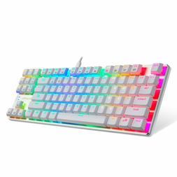 Eagletec Kg061-Br Rgb Led Backlit Mechanical Gaming Keyboard