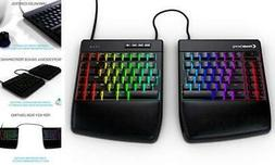 KINESIS Gaming Freestyle Edge RGB Split Mechanical Keyboard