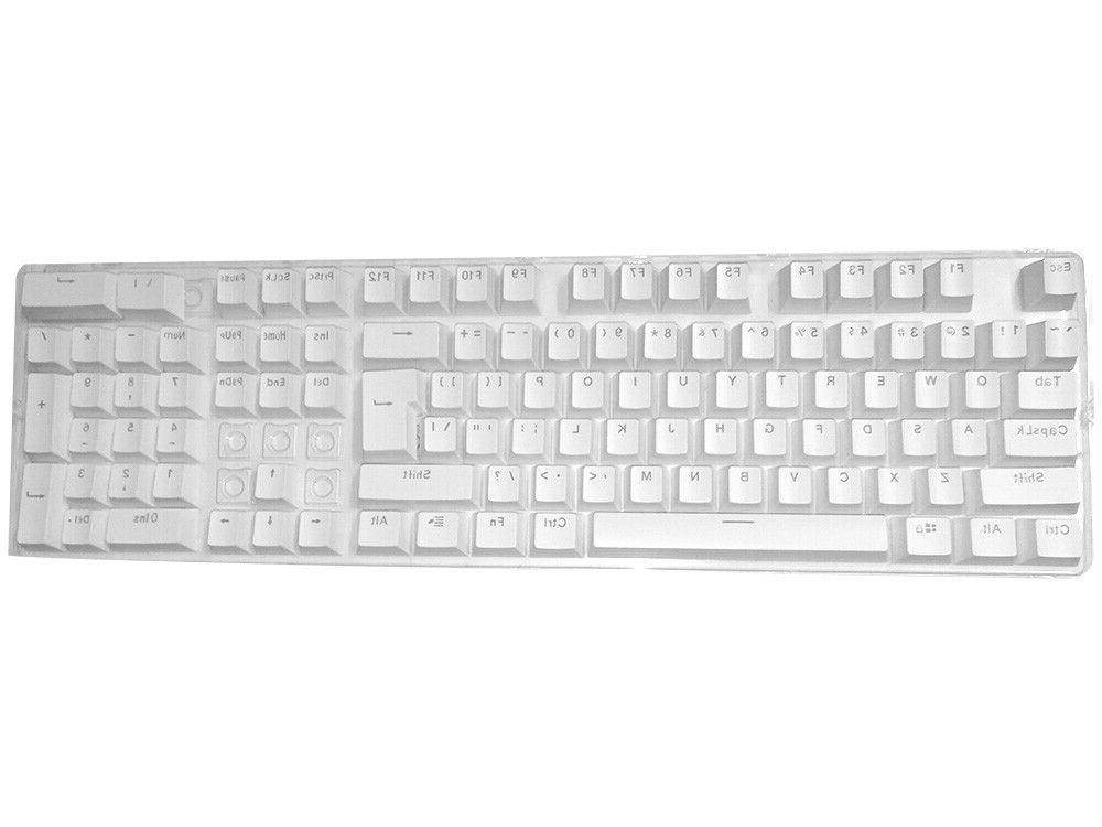 104 ABS Backlit Mechanical Keyboards