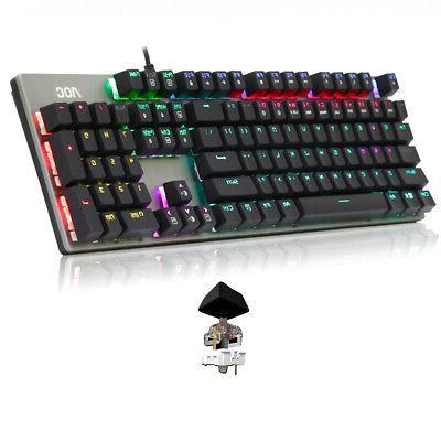 104 Keys Accessories Backlight Keyboard