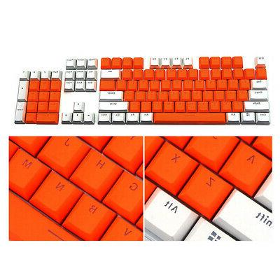 104 PBT Keycap Double Color for Keyboard USA