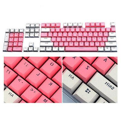 104 PBT Keycap Keycaps Set Color Mechanical USA