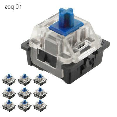 10pcs Accessories Mechanical Keyboard Waterproof