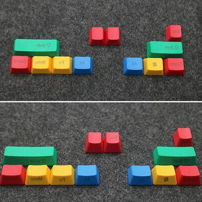 OEM Profile Durable Accessories RGBY Color Keycap Set Mechan