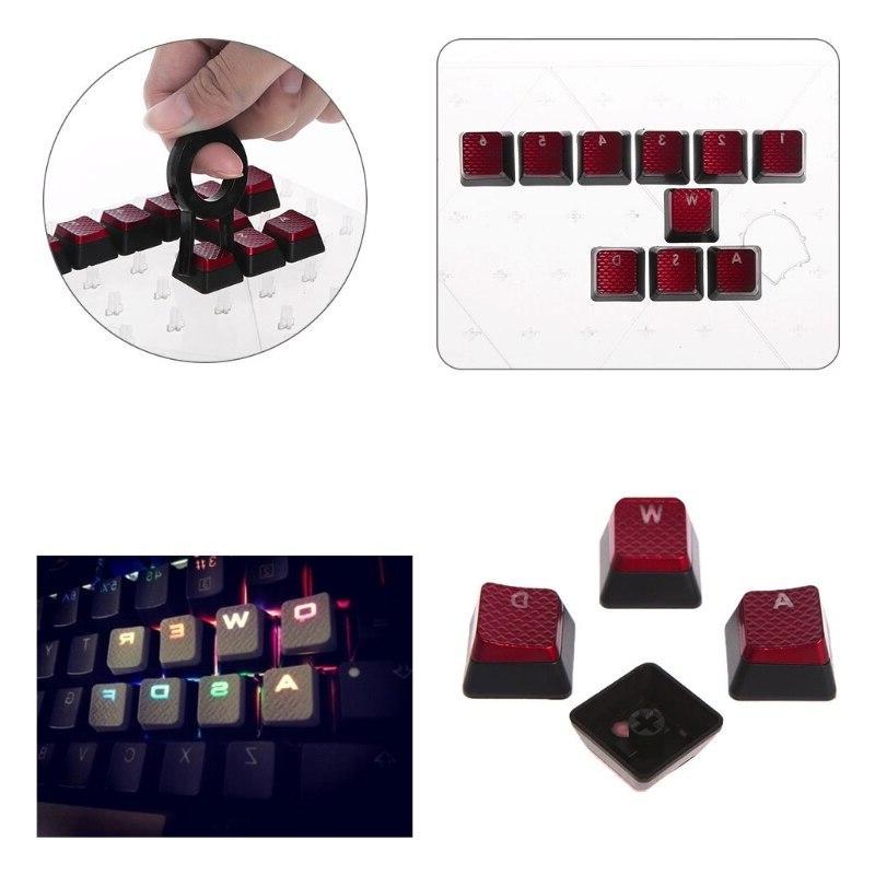 10Pcs/Pack Keycaps for <font><b>Corsair</b></font> K70 K65 K