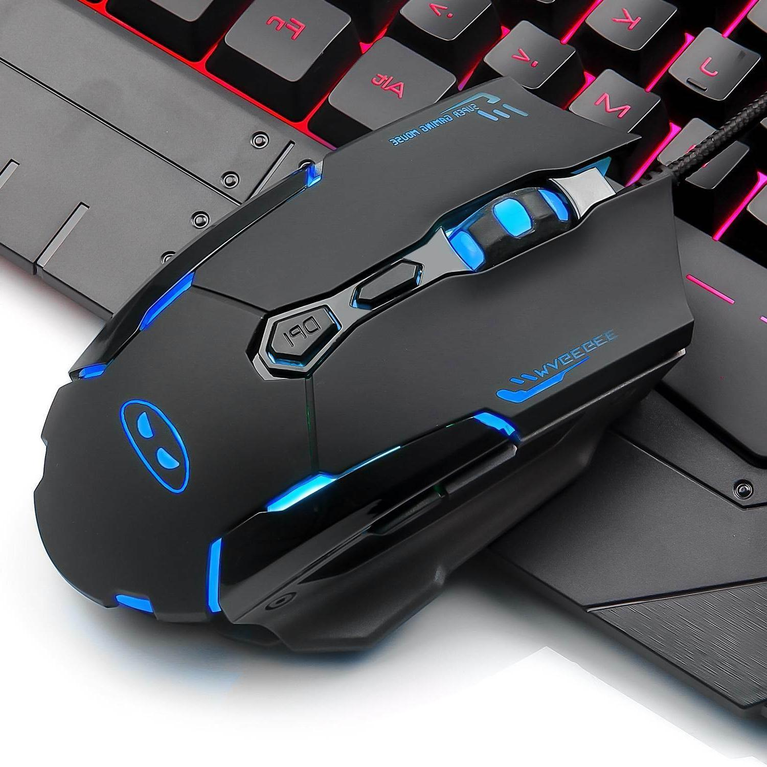 3200 Gaming & Mouse Combo RGB Backlit Feel